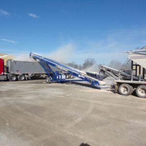 Radial Truck Unloaders